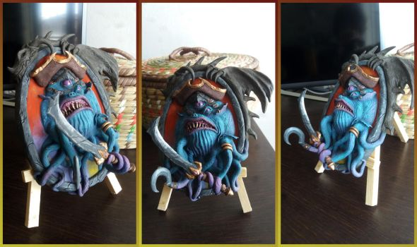 Patches The Pirate - Hearthstone Sculpture Fan Art by AntonioBalicevic