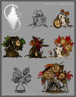 Clock Tree - round 2 concepts by CityState