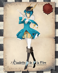 PP: Claudette de la Fere by Betachan