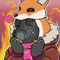 Commission | Pyro by strahldelune