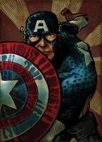 captain america by laseraw