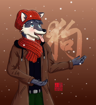 Happy Chinese New Year! by yishn