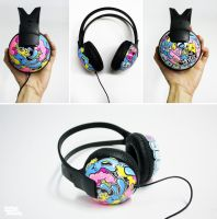 Charlyei Headphones by Bobsmade