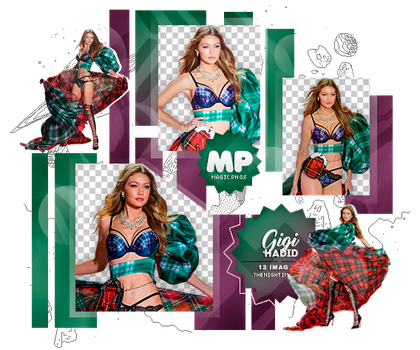 PACK PNG 1129| GIGI HADID. by MAGIC-PNGS