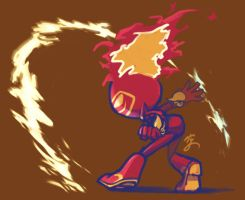 Bomberrequests 2017 - Flame Bomber by Sora-G-Silverwind