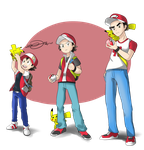 Pokemon Trainer Red - The road to a Legend by drivojunior