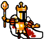 HD King Knight Sprite by LustriousCharming