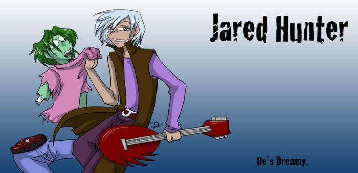 Jared Hunter of Jazz and Jess by liliy