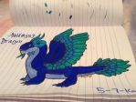 Midnight Dragon - Dragonvale by FlamingGatorGirl
