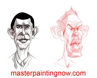 Caricature practice by discipleneil777