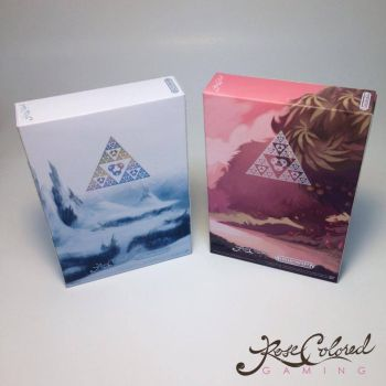 Zelda Goddess of Wisdom / Parallel Worlds Boxes by RoseColoredGaming