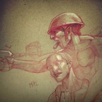 Soldier Narrative by Scribblebot
