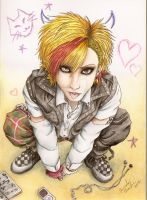 Visual kei Boy (OC) -Perfect Crush by Samy-Consu