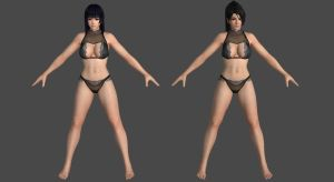 DoAX3 - Clam - Pack #1 for XPS! by DoraiBoonzu