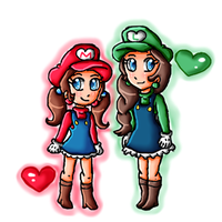Comm: Maria and Luisa by ninpeachlover