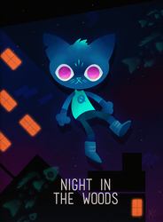 Night in the Woods: Nightmare Eyes by Lynntendo-64