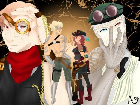 2p Steampunk Cold War by AlainaRayne