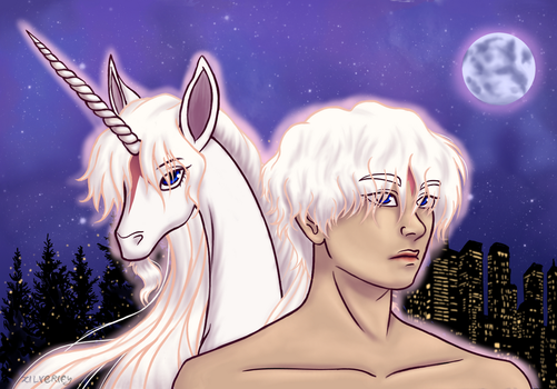 Fic Art: I'm Alive [BTS/The Last Unicorn] by X-I-L2048