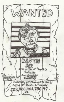 Ravic's Hyperion Wanted Poster by RavendeDrieu