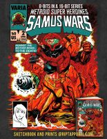 Samus Wars by ninjaink