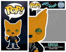 Gregg with Knife PopVinyl (Night in the Woods) by FlipOffRoy