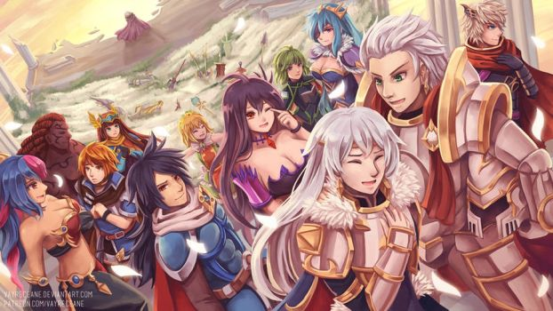 Brave Frontier - Absolution by Vayreceane