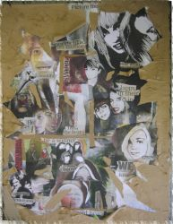 A Level Final Piece: DeCollage by 60sGirl