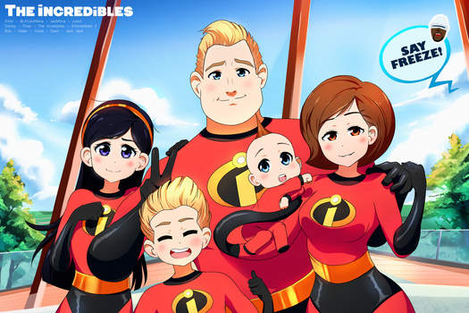 The Incredibles by JeoMona