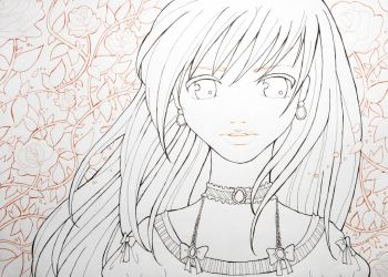 Roses - Color me by mariiiis-dolls
