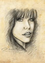 Carly Rae Jepsen Portrait -Texture- by DawnArts