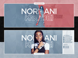 NORMANI PSD HEADERS PACK by aureumroses