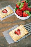 Strawberry Nutella Pop Tarts by tracylopez