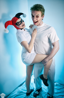 Harley Quinn and Joker (Mad Love ver.) 4 by ThePuddins