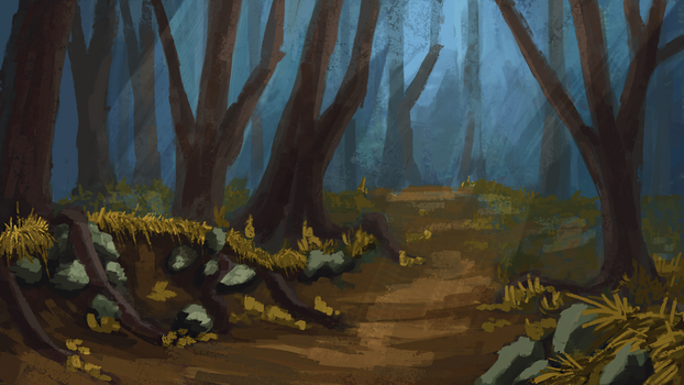 ForestSpeedPaint by Narhwhal