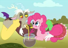 DiscoPie - Chocolate Rain Date by Perry-the-Platypus