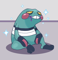 Shiny Croagunk