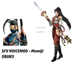 SFV VOICEMOD - Momiji From Warriors Orochi 3 Hyper by mezzatsu