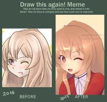 Draw this again! Meme by AngieLaura