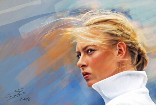Maria Sharapova by MrLizaveta