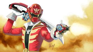 Gokaiger by wingwingwingwing