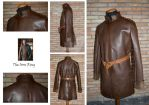 Leather buff coat by TheIronRing