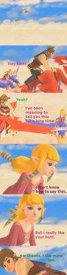 Zelda you pervert... by Rinni-Boo
