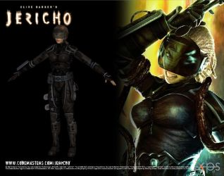 Clive Barker's Jericho: Simone Cole for XPS by Fuzzy-Moose