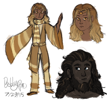 Human Deity Reference by CircusBalloon