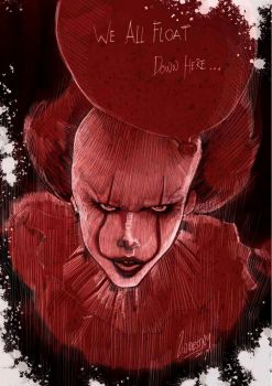 We all float down here.....mhmm by wallacedestiny