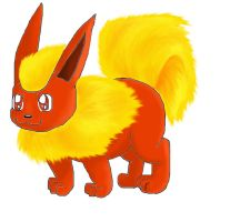Flareon Chibi by moltres93
