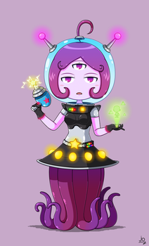 Maplestory Mateon Girl by JoTheWeirdo