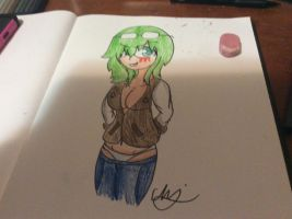 Gang attack gumi megpoid by Chitheidiot
