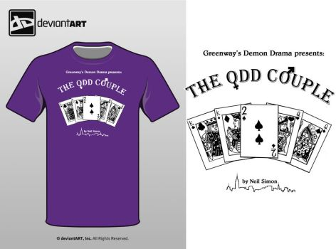 The Odd Couple Shirt Design by Chrystalblueisboo