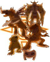 Evolution: Agumon by kyubifan